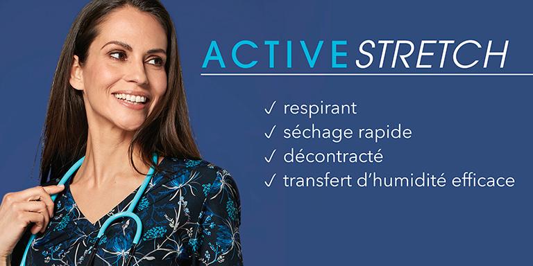 Tuniques active stretch
