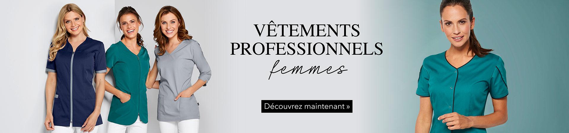 Vêtements professionnels femmes