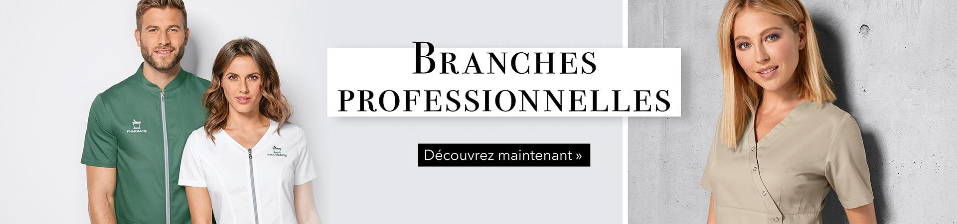 Branches professionnelles