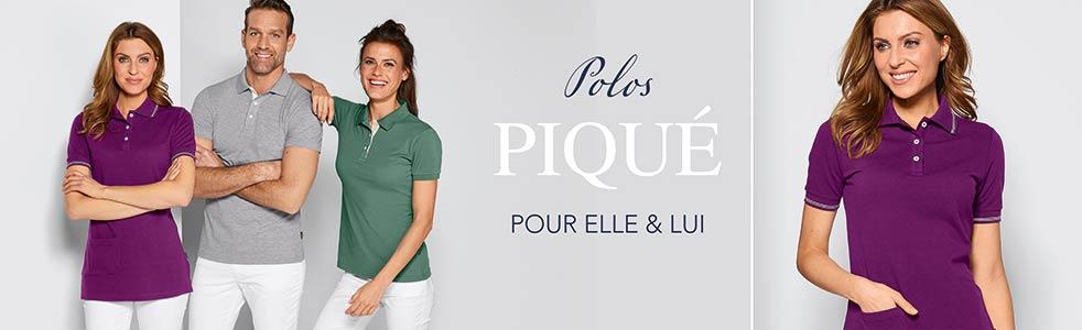 Shirts polos Piqué
